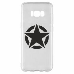 Чохол для Samsung S8+ Зірка Капітана Америки