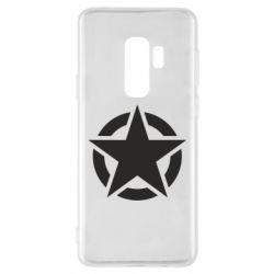 Чохол для Samsung S9+ Зірка Капітана Америки