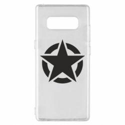 Чохол для Samsung Note 8 Зірка Капітана Америки