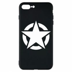 Чохол для iPhone 8 Plus Зірка Капітана Америки