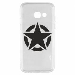 Чохол для Samsung A3 2017 Зірка Капітана Америки