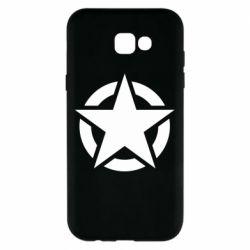 Чохол для Samsung A7 2017 Зірка Капітана Америки