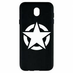 Чохол для Samsung J7 2017 Зірка Капітана Америки