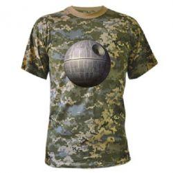 Камуфляжная футболка Звезда смерти - FatLine