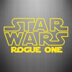 Наклейка Звездные Войны: Бродяга Один