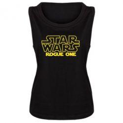 Женская майка Звездные Войны: Бродяга Один
