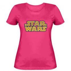 Женская футболка Звездные войны - FatLine